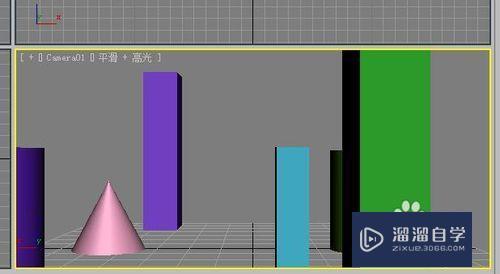 3DMax 怎么制作摄影机动画效果