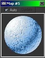 3Ds Max实例教程:制作雪的材质