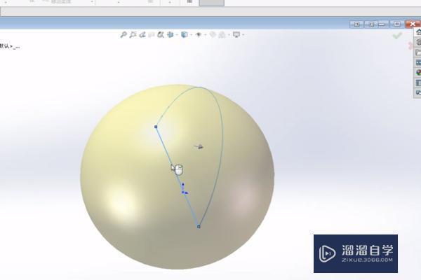 用SolidWorks如何画球?