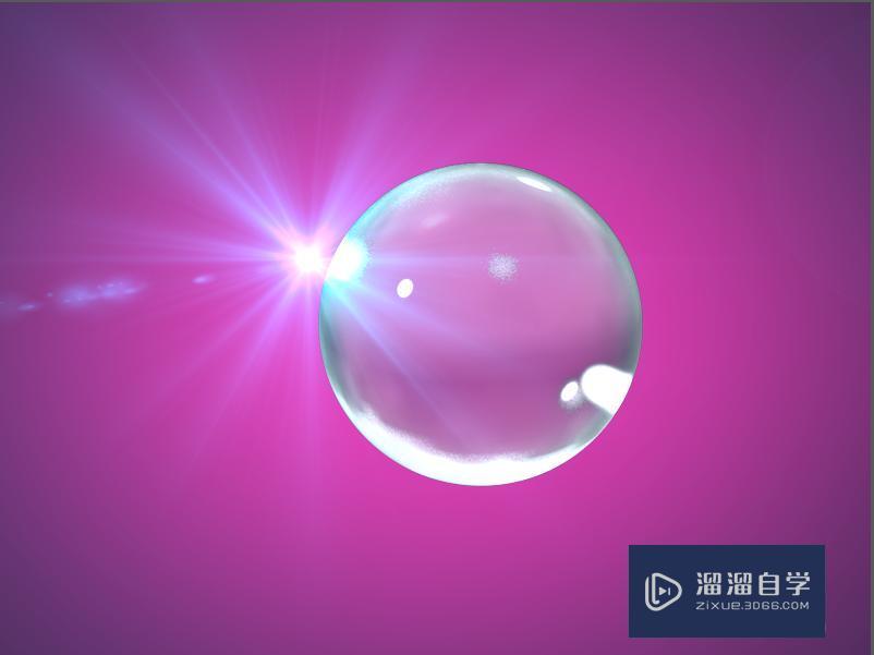 用C4D怎么调出透明材质?