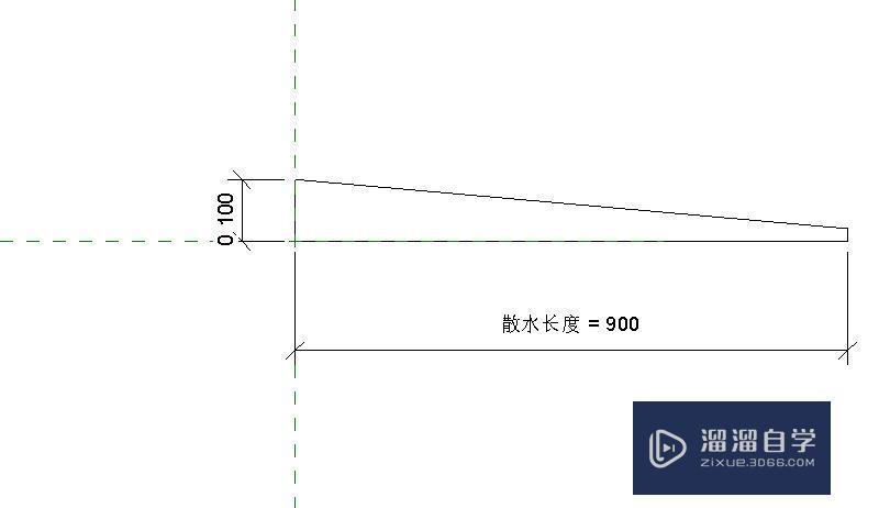 Revit中制作散水族方法