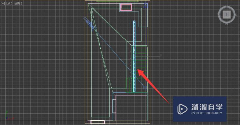 使用Autodesk 3Ds Max如何制作简单室内楼梯?